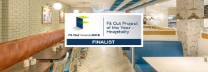 Millimetre Design-Fit Out Project of the Year Hospitality Finalist